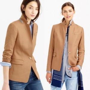 J.crew regent wool one button blazer size 4
